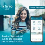 KINTO GO e bonus di benvenuto di 10 euro